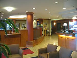 Hampton Inn Lobby