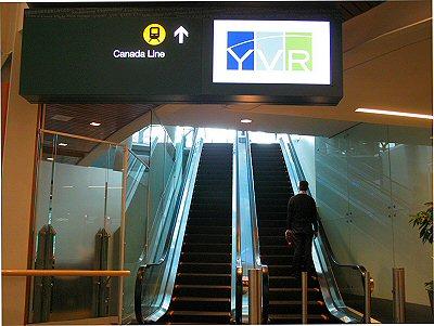 YVR Domestic Terminal Skytrain Station