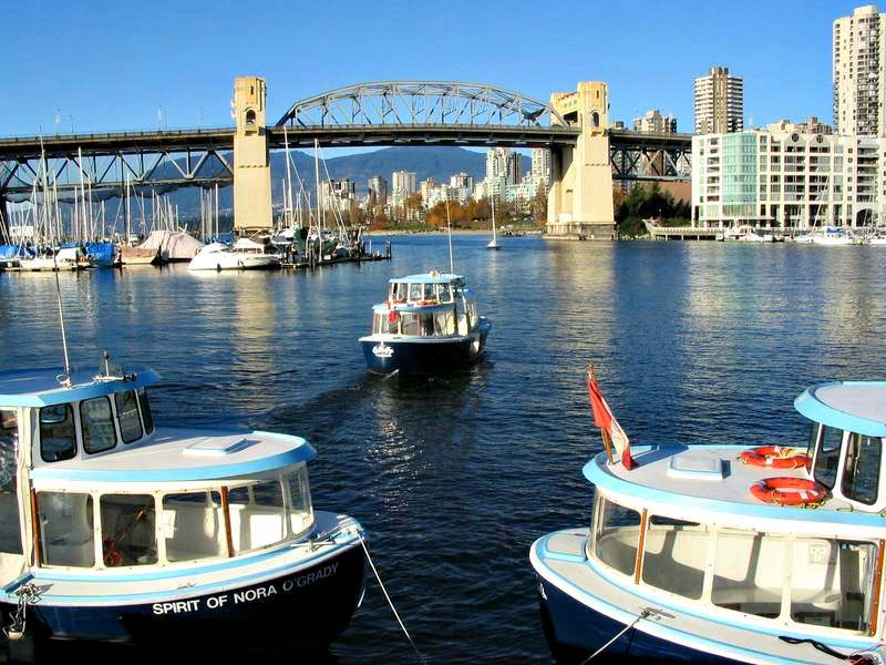 Water Taxi from Granville Island