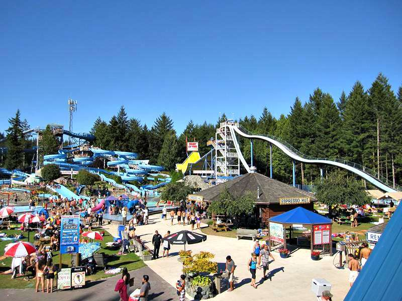 Cultus Lake Waterpark Monster rides