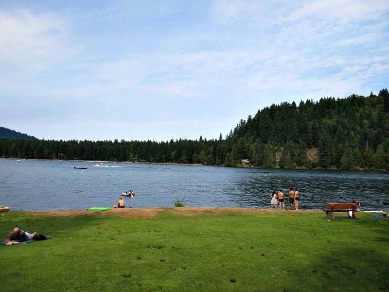 Cultus lake Provincal Campgrounds