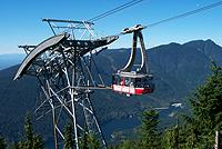 gondola at grouse mountain