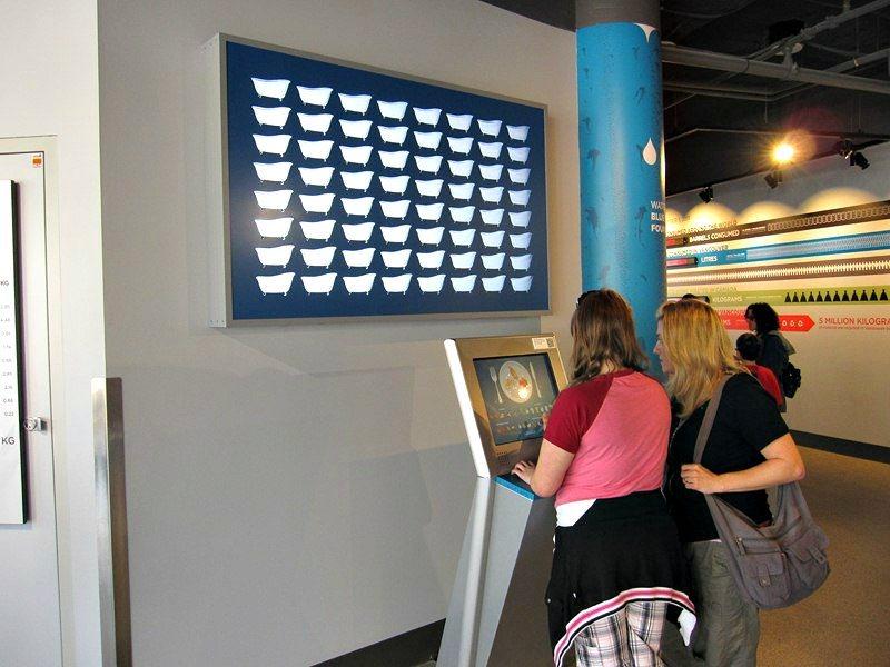 Interactive display at Science World
