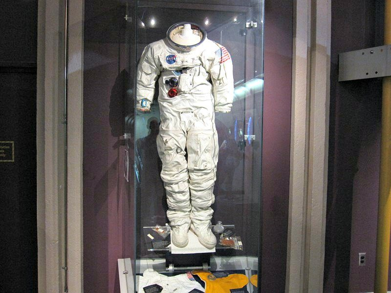 H.R. MacMillan Space Centre NASA space suit