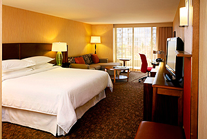 Sheraton Vancouver Airport Hotel  room