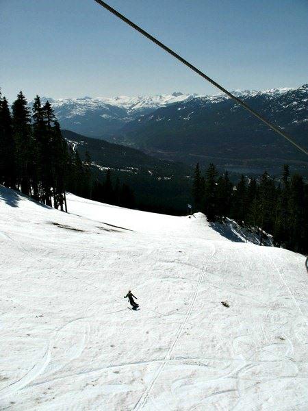 Skiing at Blackcomb