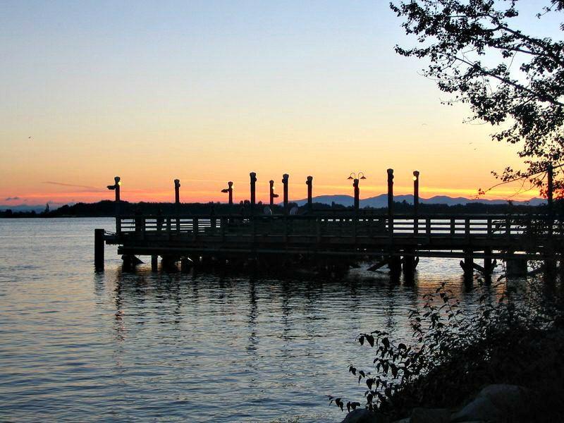 Sunset In Steveston Richmond BC