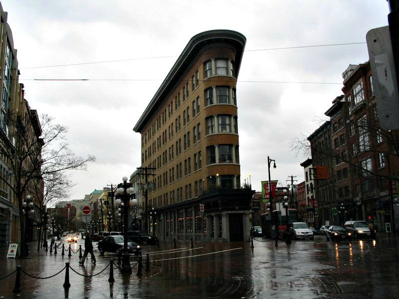 Gastown uniquely designed building