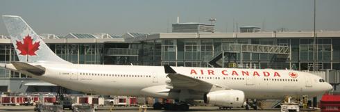 Air Canada Flight