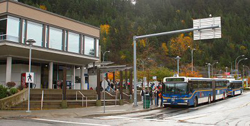 Horseshoe Bay, BC Bus Terminal