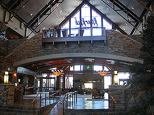 River Rock Resort Lobby