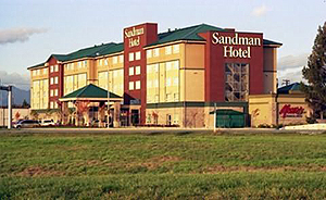 Sandman Hotel Vancouver Airport front