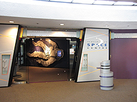 Inside H.R. MacMillan Space Centre