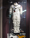 space suit at the H.R. MacMillan Space Centre
