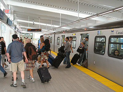 Vancouver Airport Skytrain Station