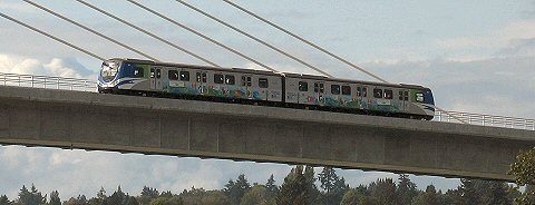 Skytrain to Vancouver International Airport