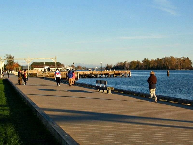 Boardwalk in Steveston Richmond BC