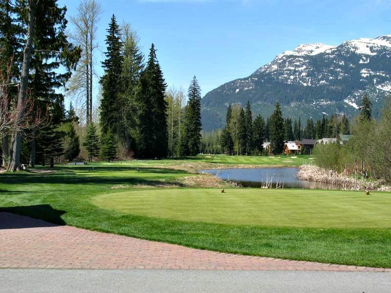Golfing near Whistler
