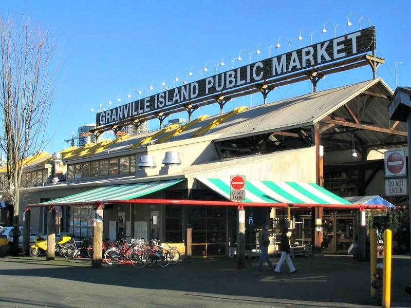 Granville Island the Public market