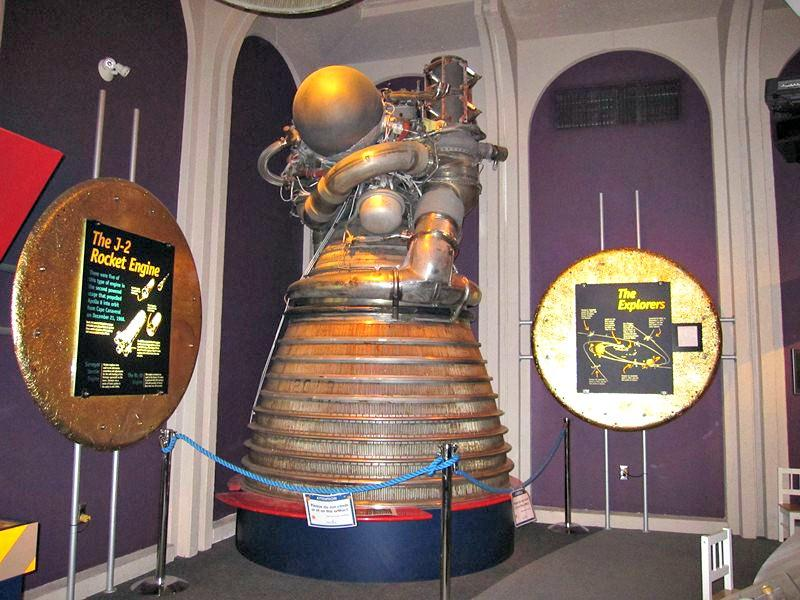 J-2 Rocket engine at the H.R. MacMillan Space Centre