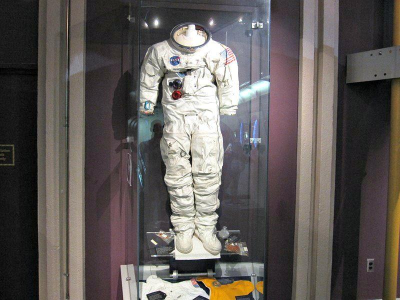 H.R. MacMillan Space Centre NASA space suit