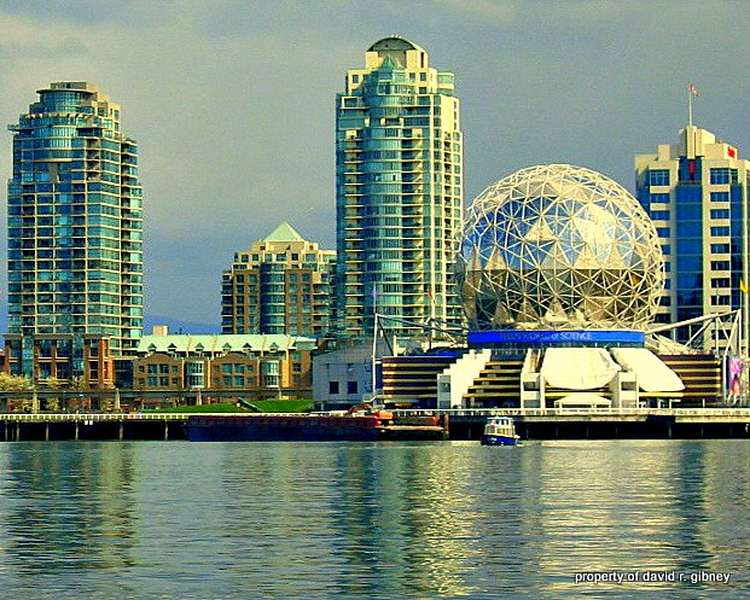 Outside view of Science World