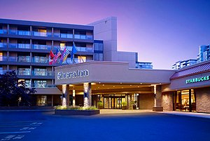 Sheraton Vancouver Airport Hotel front