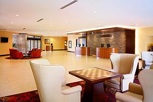 Sheraton Vancouver Airport Hotel  lobby