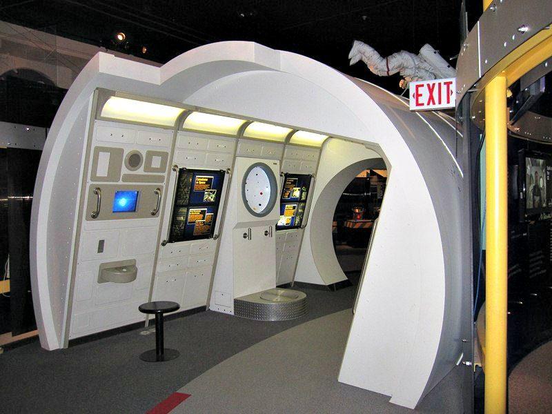 Space Module at the H.R. MacMillan Space Centre