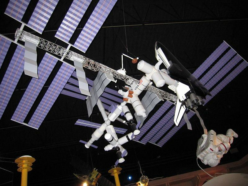 Space Station at the H.R. MacMillan Space Centre