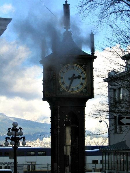 Gastown Vancouver Steam Clock