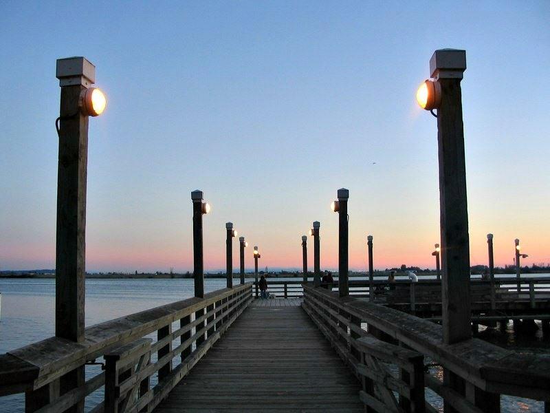 Pier In Steveston Richmond BC