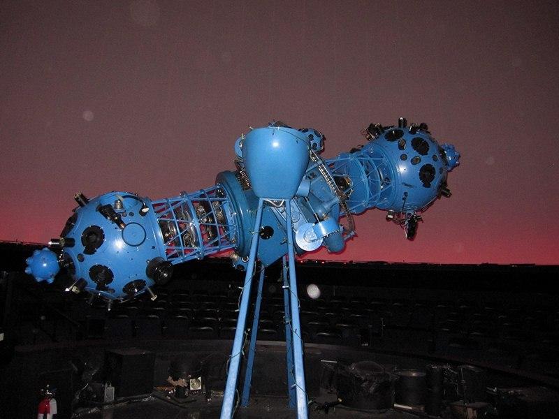 Planetarium projector at the H.R. MacMillan Space Centre