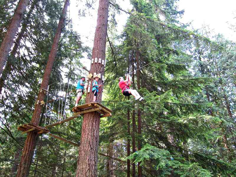 Wildplay Maple Ridge Zipline