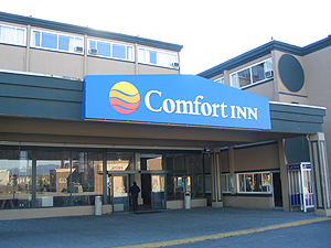 Vancouver Airport Comfort Inn!