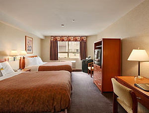 days inn vancouver airport room