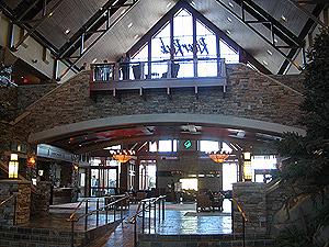 River Rock Resort Lobby