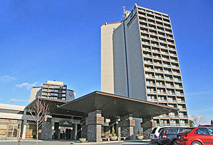 Sandman Signature Hotel Resort Vancouver Airport  front