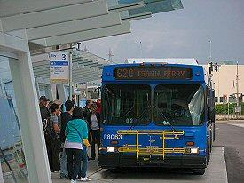 Bus 620 to Tsawwassen Ferry terminal